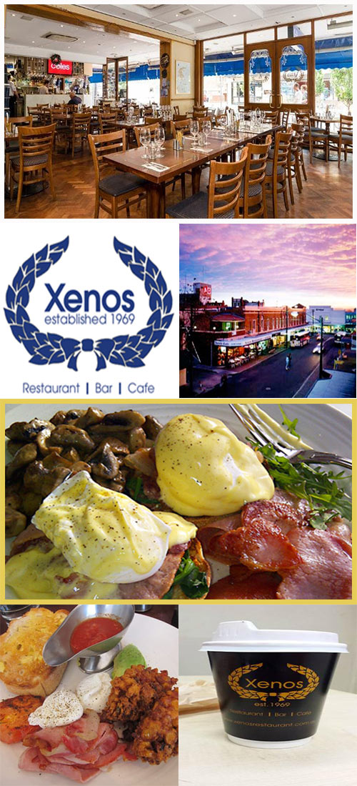 Xenos Restaurant for Crows Nest